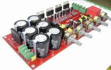 YJ TDA7294 amplifier board 2.1 channel UPC1237 2*80W+160W subwoofer with Speaker protection Sealed potentiometer