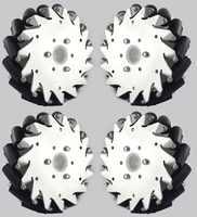 (6 дюймов) набор алюминиевых меховых колес 152 мм (2 левых, 2 правых), базовый 14165