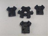 Reprap Delta Rostock Kossel mini 1* end effector+3*vertical carriage kit for DIY 3d printer plastic injection molding