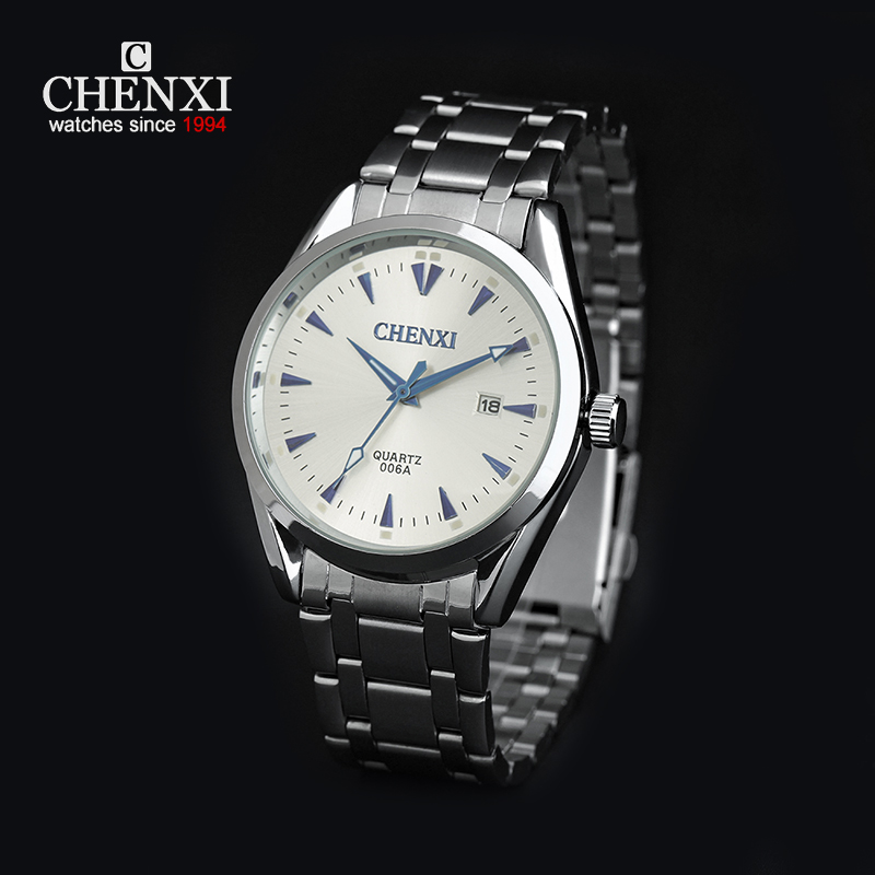 product CHENXI Classic Men Business WristWatch Stainless Steel Quartz Analog Reloj Hombre Male Clock Tuto Date Dress Relojes Deportivos