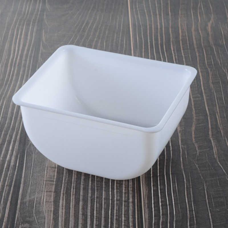 Пластиковая коробка 6 отсек черная коробка кухонная приправа коробка кронштейн барный напиток коробка для украшения фруктов поднос для коктейлей