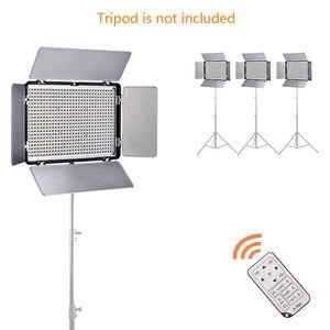 Image 2 - TL 600S 600 LED 5600Kวิดีโอสตูดิโอโคมไฟ + แบตเตอรี่สำหรับCanon 650D 750D 760D 77D 800D 6DII 7DII 5DII 5D4 เป็นYN 600