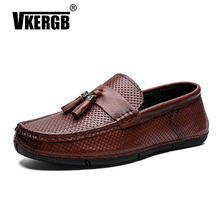 size 38-44 Men's genuine Leather Casual Shoes Zapatos Hombre Loafers Footwear Men Boat Loafer Crocodile Moccasins Driving Shoes все цены