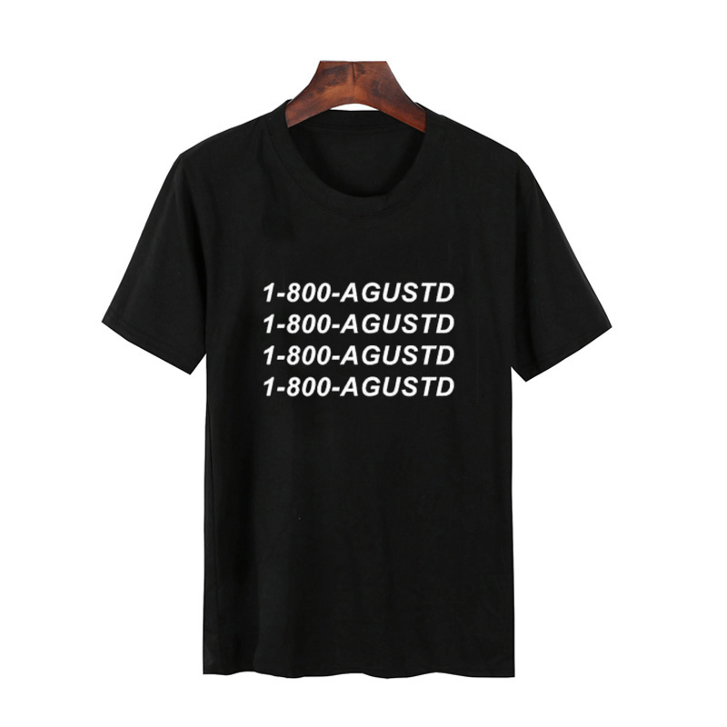 Agust D Suga Unisex   T  -  Shirt   Men Women Suga 1800   T  -  Shirt   Bts K-Pop Jungkook Jhoooope Bts Member   Shirt   Korean Tee   Shirt   Unisex
