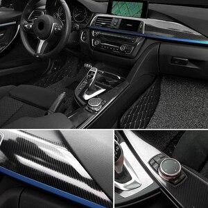 """Image 5 - 40 ס""""מ x 200 ס""""מ גבוה מבריק 5D תיקון סריטות רכב גלישה ויניל סרט סיבי פחמן מדבקות לרכב אופנועים Tablet אביזרי עיצוב"""