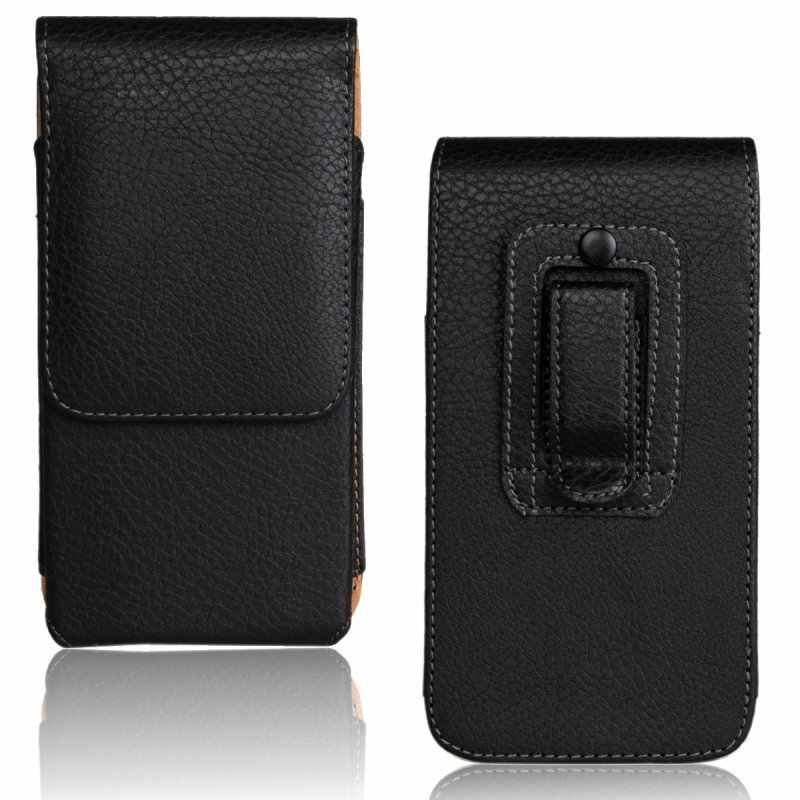 العالمية حقيبة لآسوس zenfone 2 الليزر يذهب ماكس الحافظة حزام كليب حالة الحقيبة الجلدية ل zenfone 2 الليزر ZE500KL ZE551ML 5.0 5.5