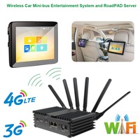 Wireless Car Mini bus Entertainment System and Server suit to Business Purpose Vehicle,Business Car,Travel Car etc Rear Seat