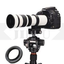 JINTU 420-800mm F/8.3-F16 Manual Telephoto Zoom Lens +T2 Mount for CANON 90D 80D 650D 350D 800D 450D 750D 550D 600D 1200D 1300D