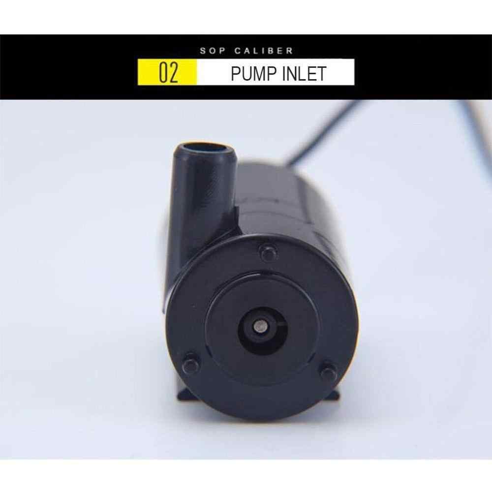 DC 5V USB Geräuscharm Bürstenlosen Motor Pump120L/H Mini Micro Tauch Wasserpumpe Für Diy Kit