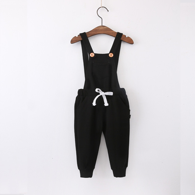 New autumn  fashion solid Casual boy Trousers children capris baby cotton overalls full length sport pants free shipping 3color