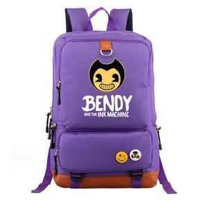 Image 4 - Bendy and The Ink machine Backpack For Teenagers Students Schoolbag Boys Girls  Kids Backpacks Travel Book Bag Mochila Infantil