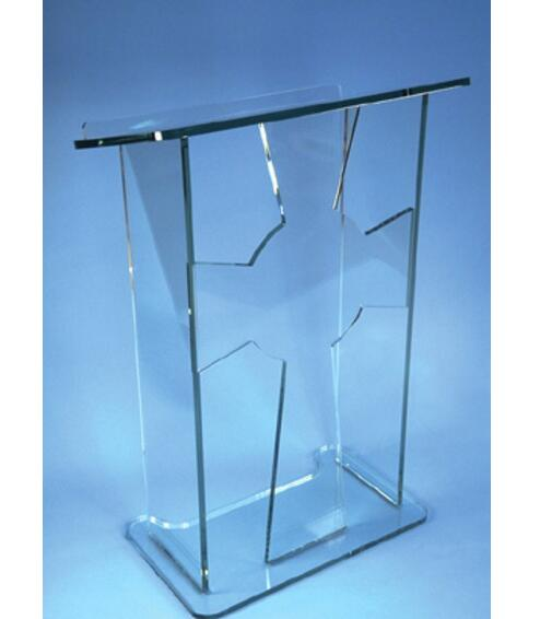 Clear acrylic lectern acrylic lectern/ clear acrylic lectern stand Acrylic pulpit Perspex Podium conference lectern podium