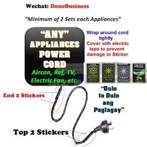 Image 2 - 100 pces emr scalar energia telefone adesivos anti radiação chip escudo saúde emp proteção emf para eletrodomésticos elétricos