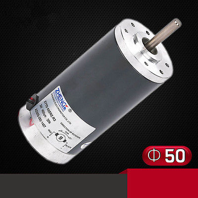 DC ZYTD-50SRZ-R2 12V 24V 50mm DIA Micro-Motors Reversible Adjustable Speed 2000RPM-8000RPM zytd 80srz 9f1 12v 24v 80mm 90w