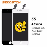 Highcreen Display Screen For IPhone 5G 5 5S 5C LCD With Touch Screen Digitizer Assembly Display