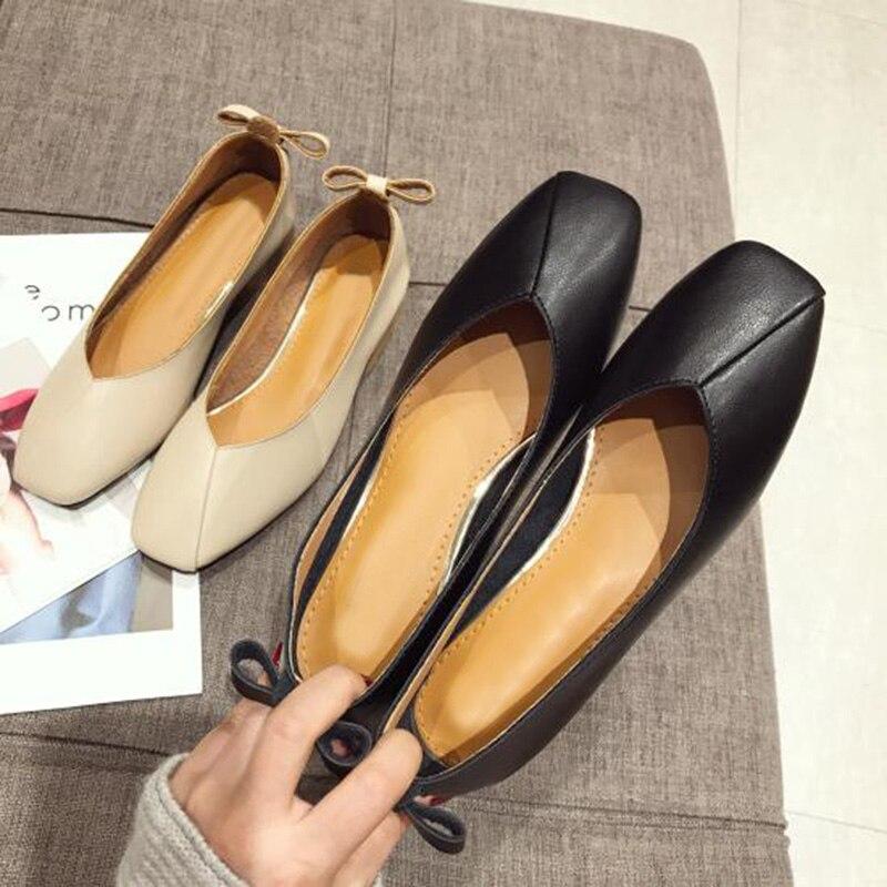 Mujeres Las Zapatos Tacones Mujer Oficina Apricot negro A373 Moda Lujo Bombas De Cuero Bajos Marca Suave nqwtT08Wx