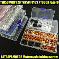 Universal Motorcycle Fairing Bolts Screw Moto Spring Bolts For YAMAHA TZR50 WGP FZ8 TZR50 FZ16S XT660X Fazer8