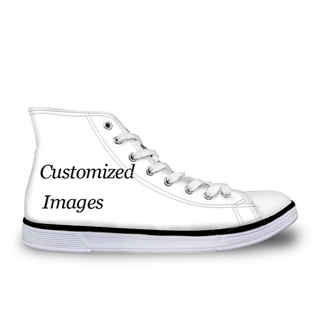 Customized Image LOGO Print Children Sneakers Boys High Top Kids Classic Canvas Shoes Outdoor Flats Shoes Breathable Peace ShoesCustomized Image LOGO Print Children Sneakers Boys High Top Kids Classic Canvas Shoes Outdoor Flats Shoes Breathable Peace Shoes