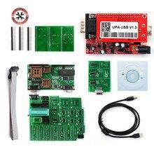Programmateur USB UPA 1.3, unité principale V1.3, adaptateur ECU, réglage de puce, meilleure qualité, usine, adaptateur eeprom
