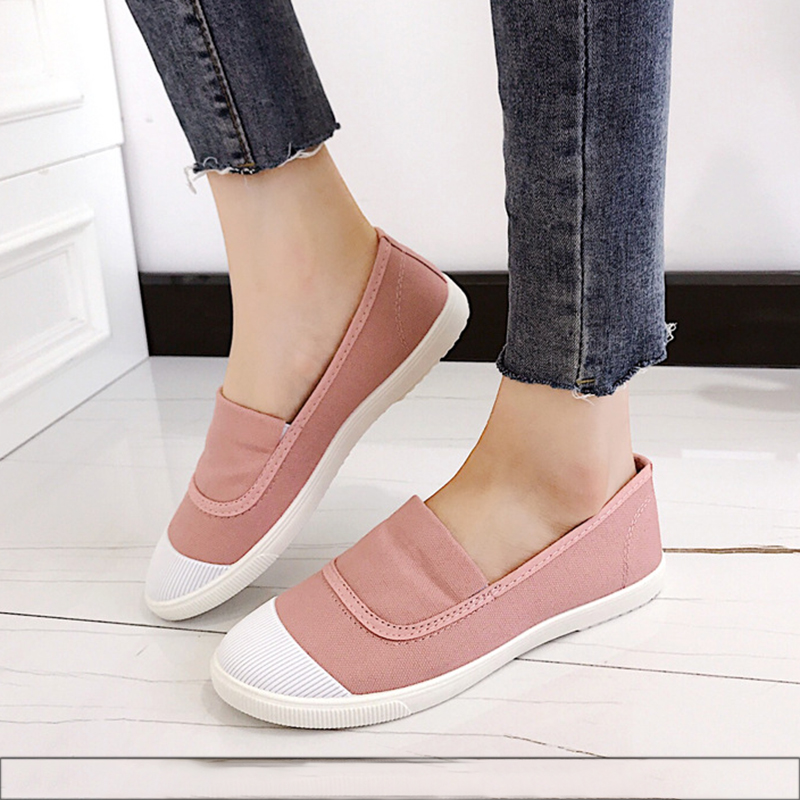 Ladies shoes slip on espadrilles women ballet flats shoes women loafers ballerina black flat shoes for woman fashion flats women ballerina flats shallow slip on ballet shoes pointed toe flats woman metal heart shape rubber leather black ladies shoes