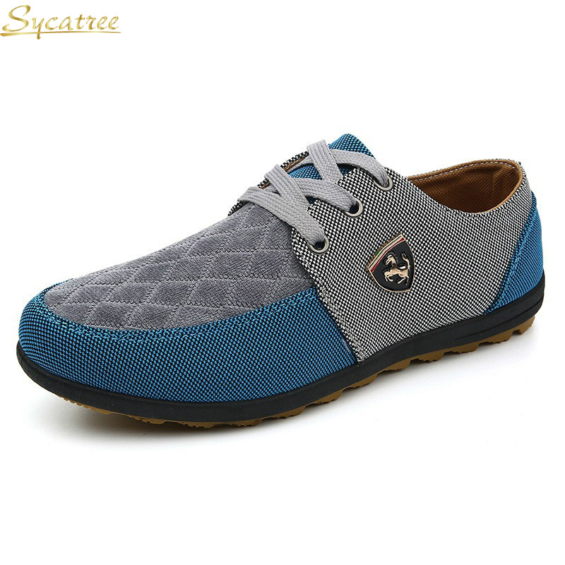 Up bu b09 a09 bu Taille A09 a09 Casual a09 yl 39 Offre Hommes Ferrary Sycatree Toile Chaussures Spéciale Printemps Dentelle dbu Appartements yl Grande Mode Mâle b09 Automne gn 45 c34R5LAqj