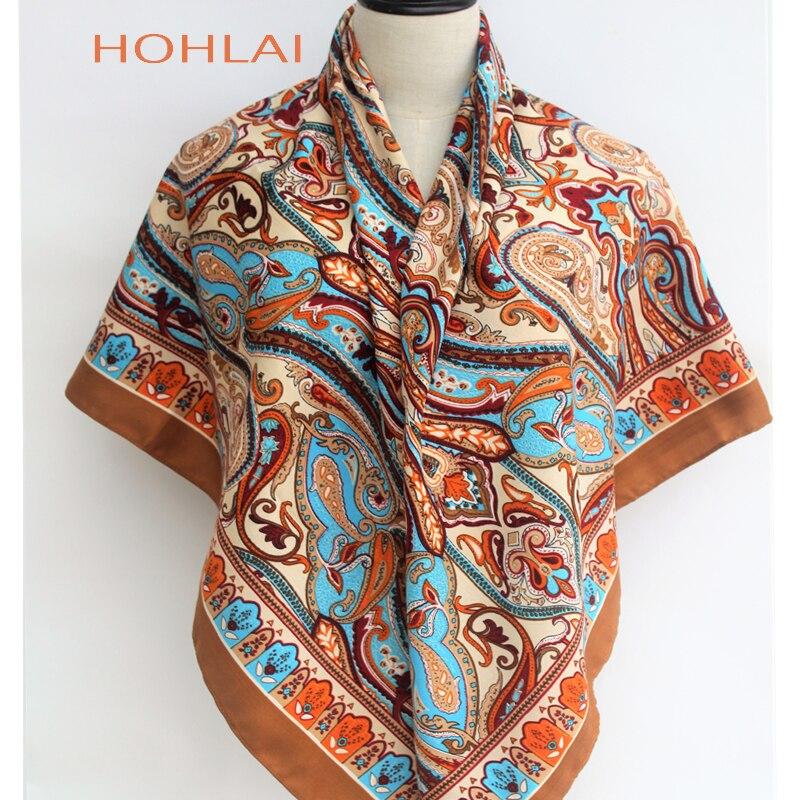 120*120cm Winter Ethnic Style   Scarves   For Women Hijab   Scarf   Bandanas   Scarf   Female Brand Fashion Pretty Shawls   Scarves     Wrap