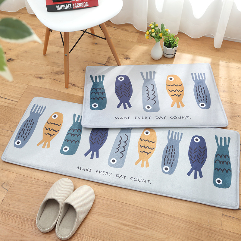 Multi specification Bath Rug Kitchen Rug Door Way Feet Mat Anti slip Strip Doormat Floor Rug Kitchen Carpet Bath Mat
