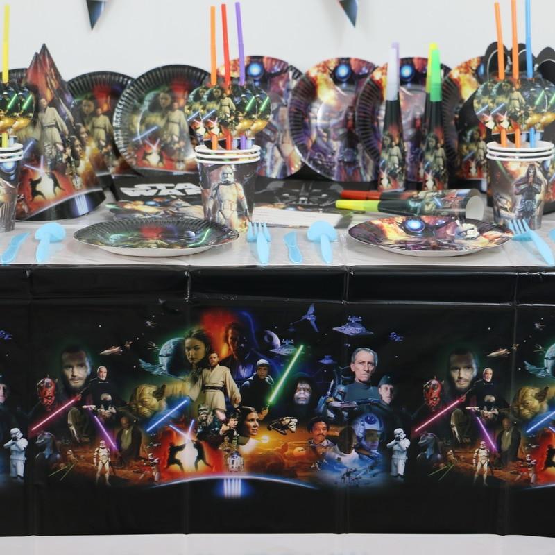 88pcsLuxury Star Wars Theme Boy Kids Birthday Decoration ...