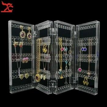 Transparentny stojak na biżuterię