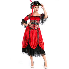 sexy halloween costume for women plus size pirate costume woman adult female party pirates of the caribbean costume carnival  sc 1 st  AliExpress.com & Plus Size Pirate Costumes Women Promotion-Shop for Promotional Plus ...