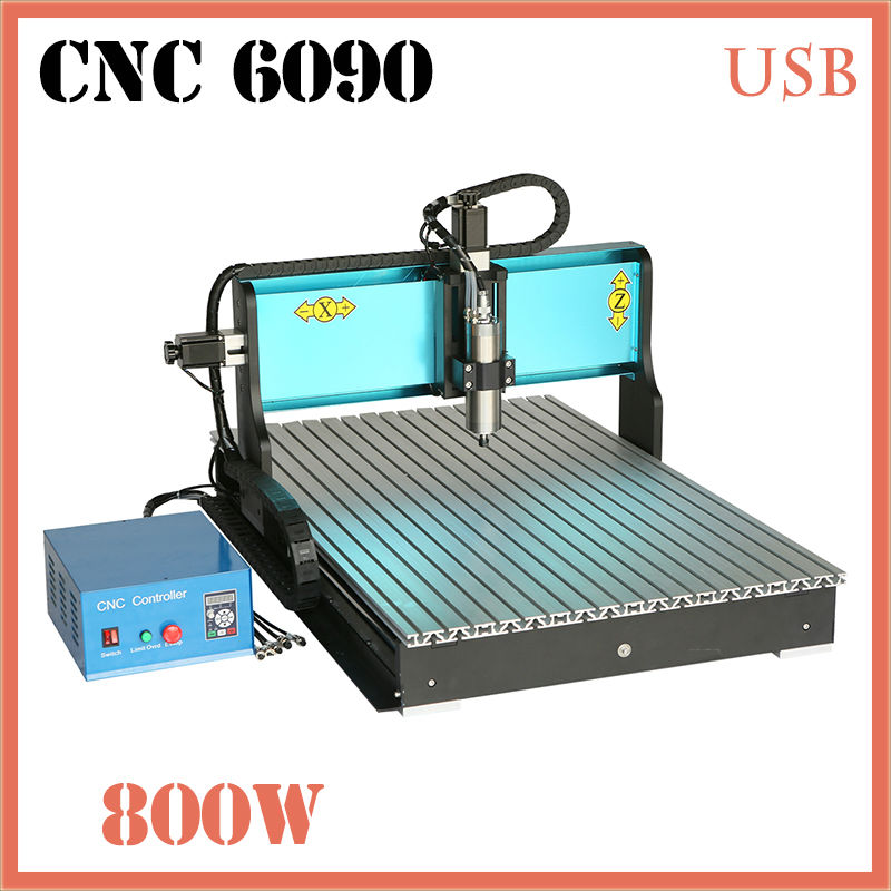 JFT Portable Stone Engraving Machine 3 Axis 800W Engraving Wood Machine with USB Port Factory Price CNC Router 6090 dhl ems 1pc for good quality positioning unit qd75d4 plc new