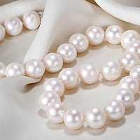 11 12mm natural pearl sweater FINE jewelry circle close to genuine bright light necklace