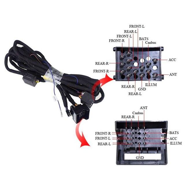 Nawigacji samochodowej Wtyk 5 M kabel extensional dla BMW E46/E39 Uprząż Adapter Kabla