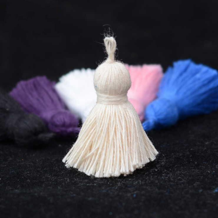 20 stks/partij Katoen Mini Kleine Kwastje Decoratieve voor Thuis Textiel Deurknop Tafelloper Sofa Cover Volant Bag Accessoires 8/2