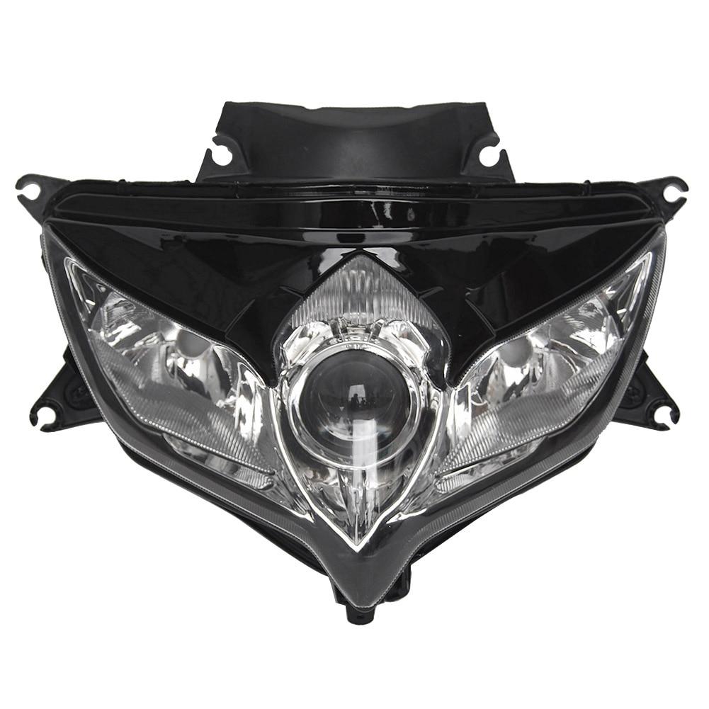 GSXR600 GSXR750 Front Headlight Headlamp For Suzuki GSXR 600 750 K8 2008 2009 Motorcycle Assembly No Bulb ABS Plastic Clear Len