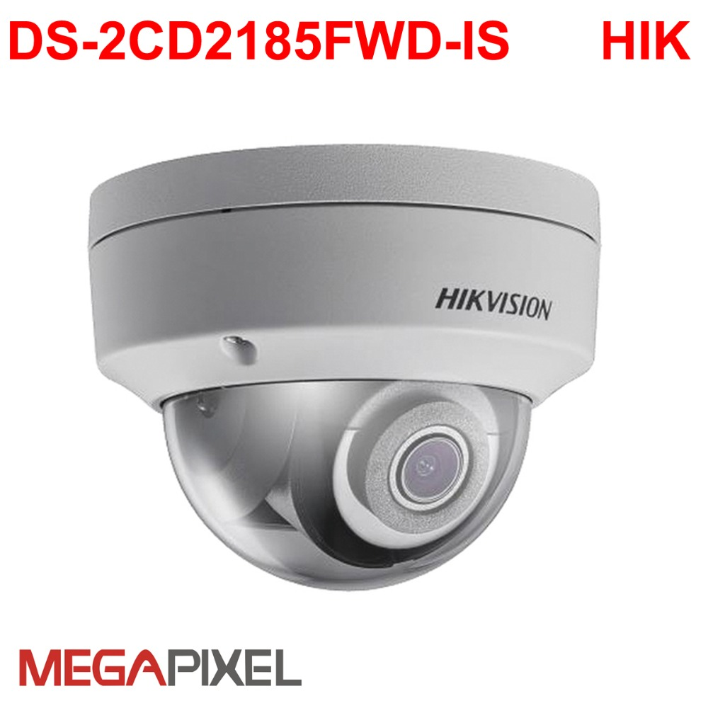 cctv Video Surveillance security ip Camera 1080p Hikvision 8mp DS-2CD2185FWD-IS Network cam Camcorder DVR NVR security system 8mp ip camera cctv video surveillance security poe ds 2cd2085fwd is audio for hikvision dahua dvr hik connect ivm4200 camcorder