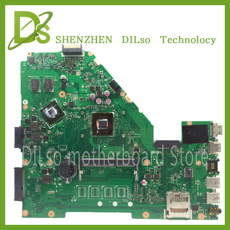 цена на KEFU X550MD motherboard For ASUS X550MD laptop motherboard x550md original new motherboard N2930/N3530/N3540 Test motherboard
