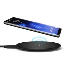 Qi Wireless Charger for iPhone 8 X XS 8 Plus 10W Fast Wireless Charger for Samsung Galaxy S8 S9 Note 9 Wireless Charging Pad стоимость