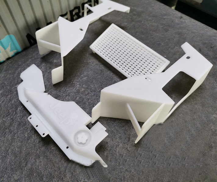 Oyuncaklar ve Hobi Ürünleri'ten Parçalar ve Aksesuarlar'de 1 takım CAPO JKMAX Motor Kapağı Davlumbaz Kiti 3D Baskı Su Tankı Astar Simülasyon Flare Arch Tekerlek Kaş Kabuk RC Araba Modifiye'da  Grup 1