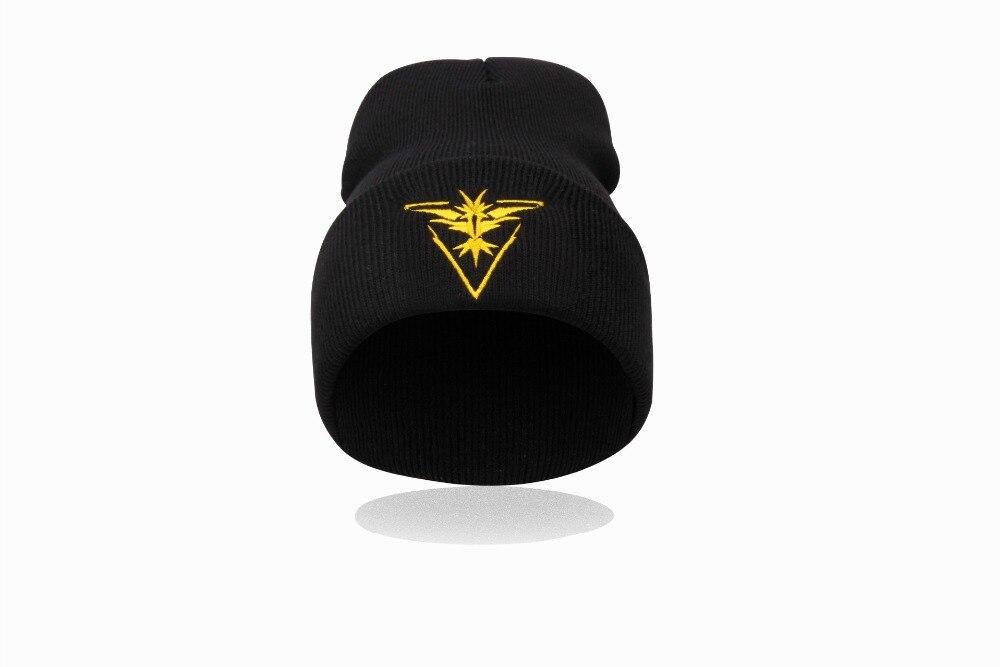 Gorro Touca Com Símbolo Times Pokémon Go Equipe Amarela Instinct
