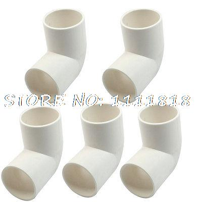 5 X White Pvc Drainage Pipe Adapter Elbow Connectors Ings 32mm Dia In From Home Improvement On Aliexpress Alibaba Group