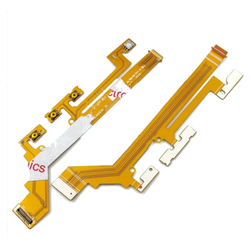 Power ON/OFF Switch Button Flex Cable For Sony Xperia M2 Aqua S50H S50T D2303 D2305 D2306 Volume Button Flex Cable Replacement