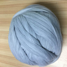 500g DIY Knitting Accessories Wool Roving Yarn Super Soft Big Merino Wool Yarn Knitting Blanket Supplies Hand Knitted Hat Scarf(China)