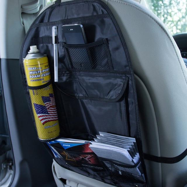 SPEEDWOW Auto Car Back Seat Storage Bag Car Multi Pocket Storage Organizer Arrangement Bag Car Styling Seat Cover