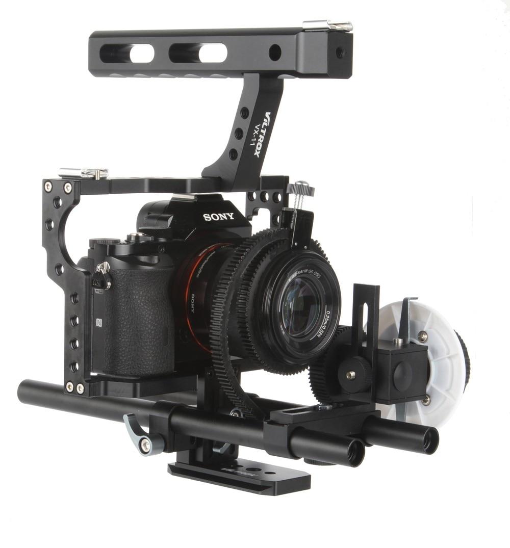 Viltrox 15 mm Varilla Rig DSLR Juego de jaula de video Estabilizador - Cámara y foto - foto 3