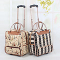 """Wholesale!18"""" female travel duffle bags on wheel,girls lovely cartoon travel bags,18 colors(types) available,good quality bags"""