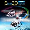 Бесплатная доставка Новый 2014 WLtoys V931 2.4 Г 6CH & 3D Бесщеточный AS350 Масштаб Flybarless Вертолет WL V977/V933/V966/V913/V912/S977