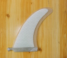 "Single Centre Fins 9"" Surfboard Fins Honeycomb And Stand Up Paddle Board Browsing Fins"