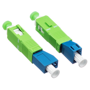 5 uds LC / PC hembra a SC / APC macho fibra óptica brida adaptador de acoplamiento envío gratis
