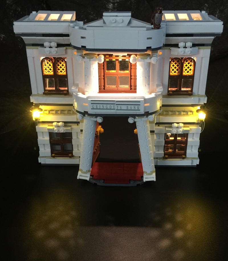 LED light up kit for Lego 10217 /16012 Harry Potter Diagon Alley